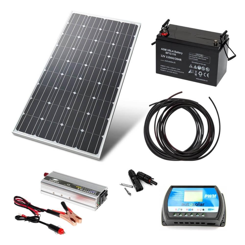 Solaranlage für garten 2000 watt